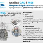 Analiza CAD i MES – łożyska zaprojektowane dla platformy wiertniczej