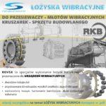 Łożyska baryłkowe do maszyn wibracyjnych RKB ROVSX